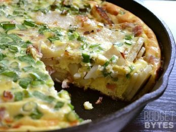 Ham and Potato Frittata