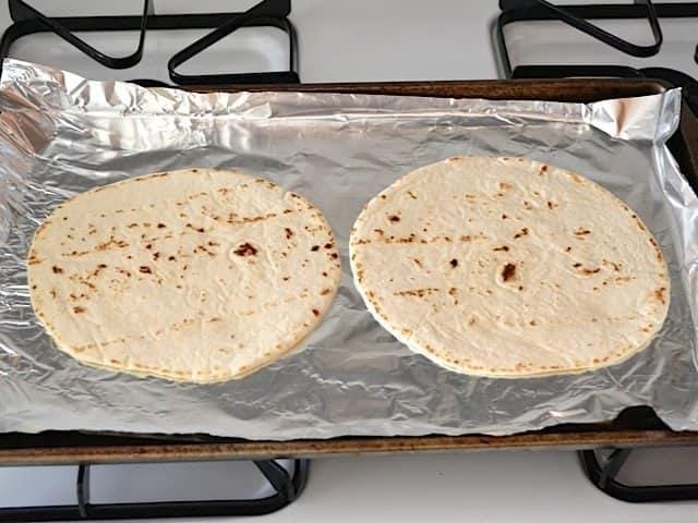 pre-bake tortillas