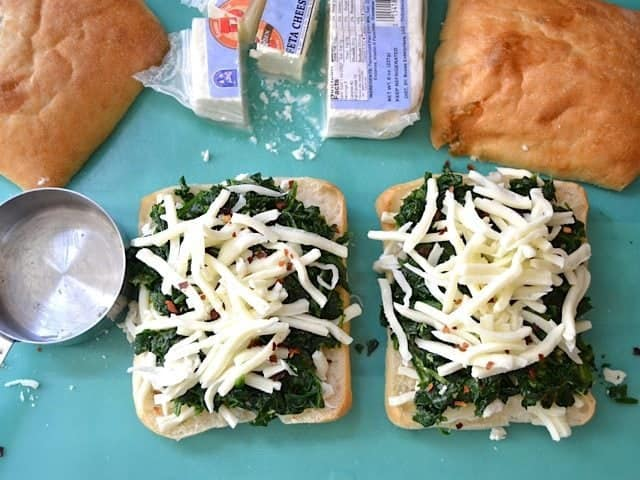 Spinach Pepper Cheese
