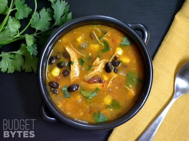 Chicken & Pumpkin Soup