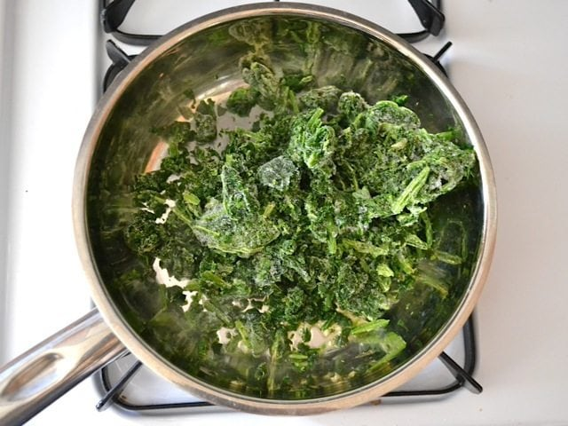 Cook Spinach