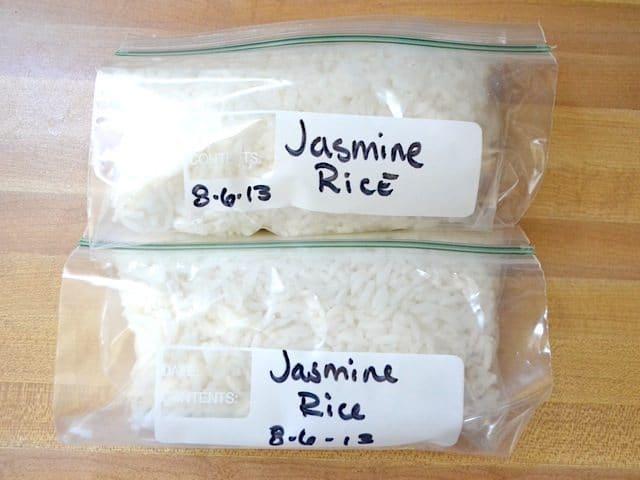 Freeze Rice