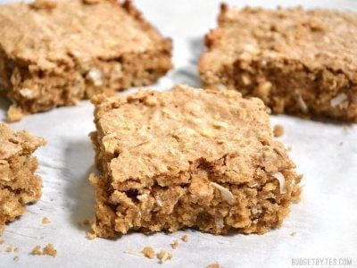 Soft Oat and Nut Bars