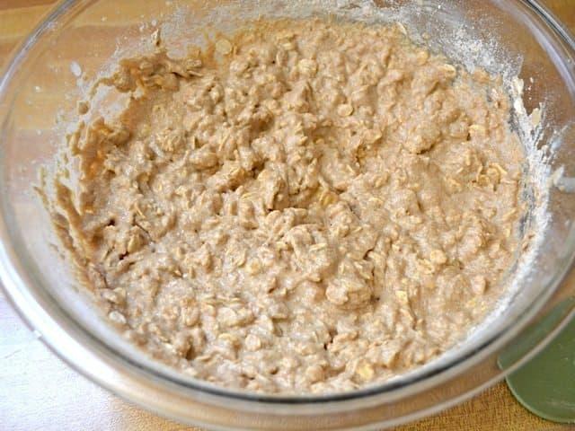 Add Rest of Flour Oats