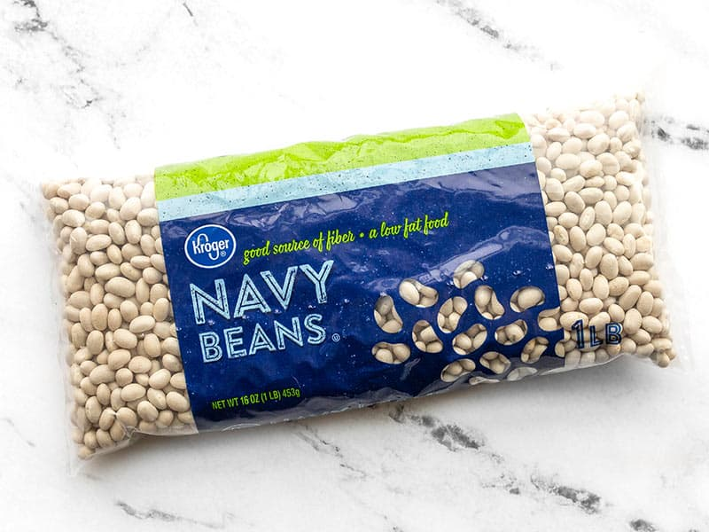 Package of dry navy beans