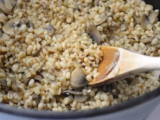 Fluffed Barley