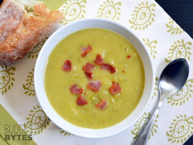 Split Pea Bacon & Potato Soup