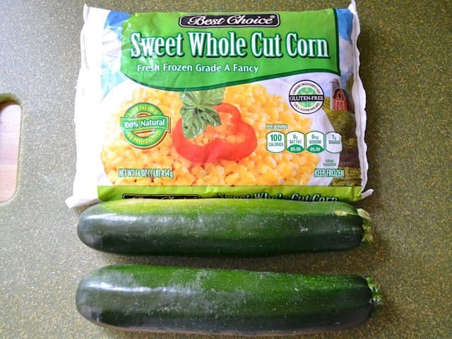 Corn and Zucchini