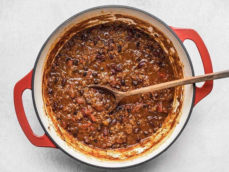 Simmered Basic Chili