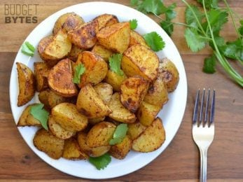 Chili Roasted Potatoes