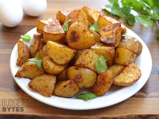 Chili Roasted Potatoes - Budget Bytes