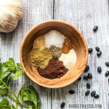 This simple homemade chili seasoning is made with a few basic pantry staple spices and can be used for so much more than a pot of traditional chili! Budgetbytes.com