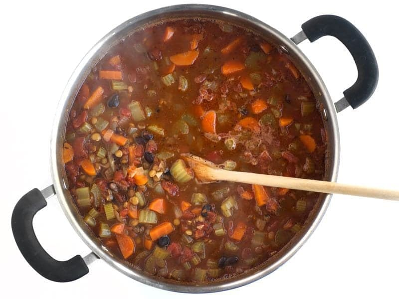 Simmer Until Lentils are Tender