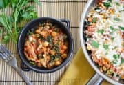Sausage and Kale Skillet