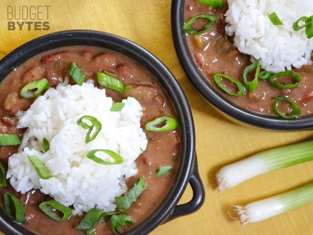 Vegan Red Beans And Rice Budget Bytes