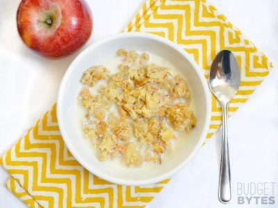 Morning Glory Baked Oatmeal