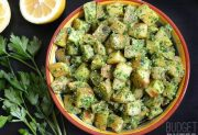 Parsley Pesto Potatoes