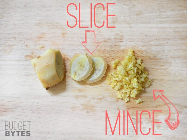 Slice or Mince