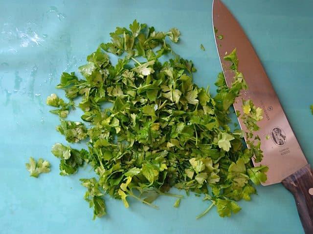 Chop Leaves