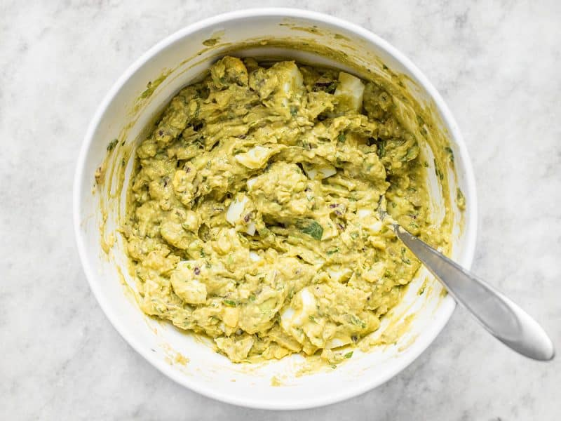 Finished Best Ever Avocado Dip