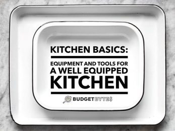 A comprehensive list of kitchen basics - tools and equipment that will help you build a well run, efficient, and budget-conscious kitchen!