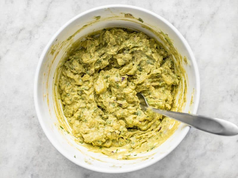 Mashed Best Ever Avocado Dip