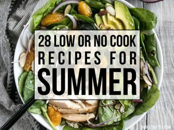 Need to feed the family, but don't want to heat up the kitchen? Here are 28 of my favorite delicious, low or no cook recipes for summer. Budgetbytes.com
