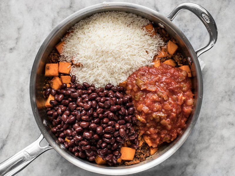 Beans Rice and Salsa