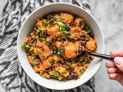 Chorizo Sweet Potato Skillet