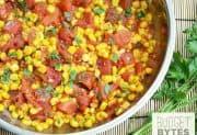 Sautéed Corn and Tomatoes