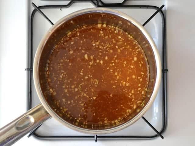 Uncooked Teriyaki Sauce