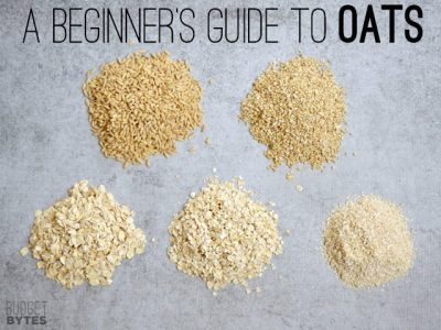 A Beginner's Guide to Oats