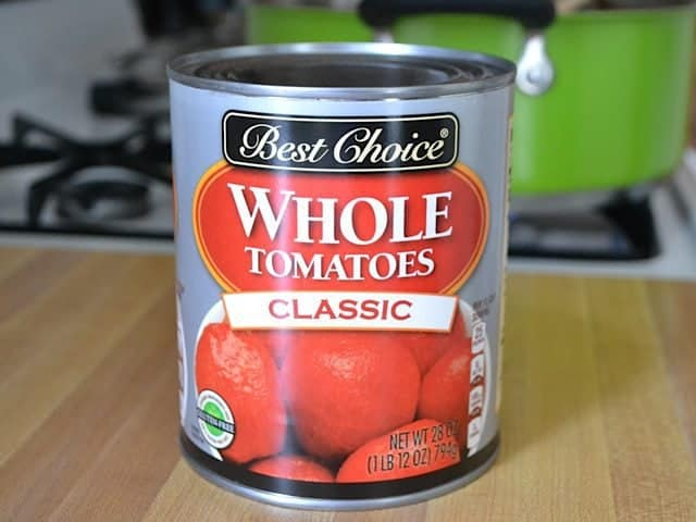 Canned Whole Tomatoes