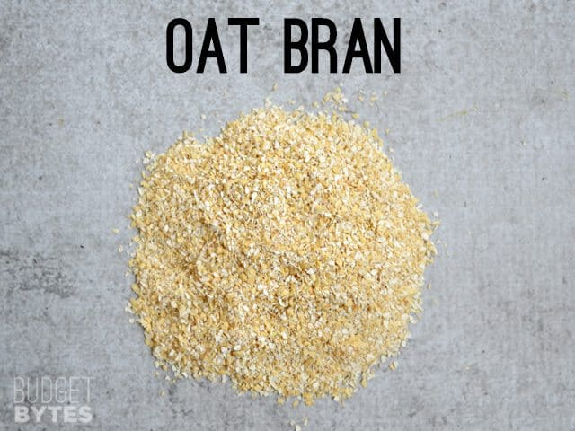 Small pile of Oat Bran