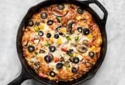 No Knead Pan Pizza