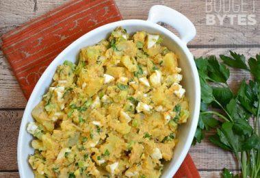 Cajun Potato Salad - Budgetbytes.com