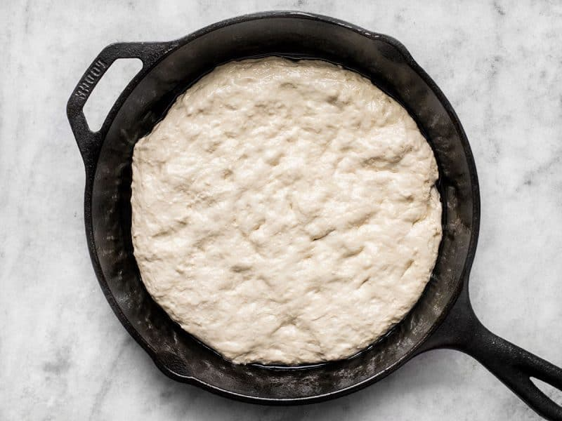 Dough in Skillet