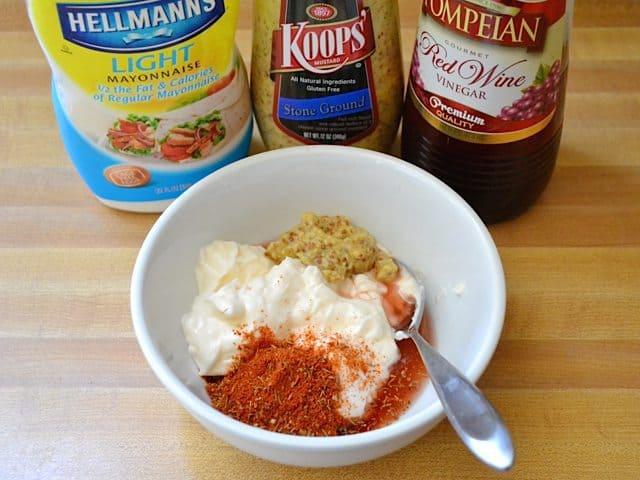 Potato Salad Dressing Ingredients