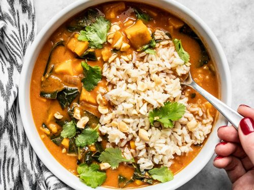 Vegan West African Peanut Stew Step By Step Photos Budget Bytes