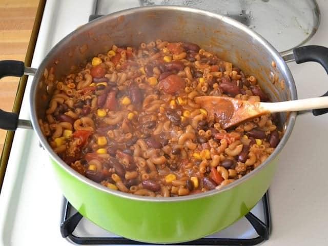 Cooked Chili Pasta