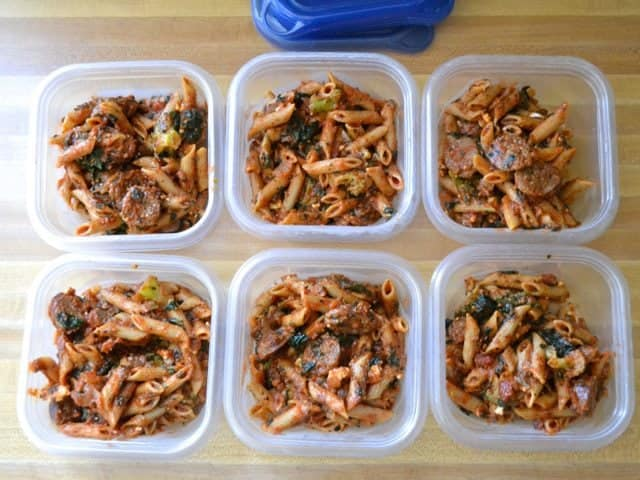 Penne Pasta Containers