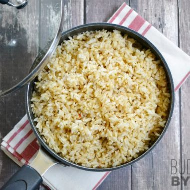 Seasoned Rice - Budget Bytes