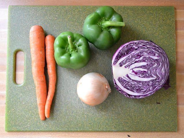 Stir Fry Vegetables, raw