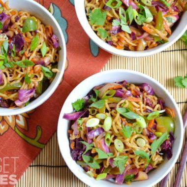 Vegetable Stir Fry Noodle Bowls - Budget Bytes