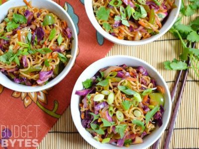 SNAP Challenge: Vegetable Stir Fry with Noodles