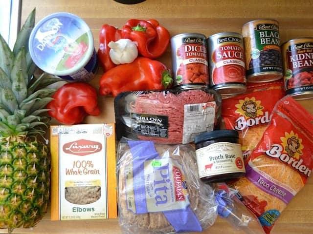 SNAP Challenge Week 2 Groceries