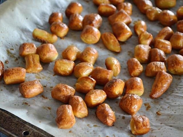 Baked Pretzel Bites