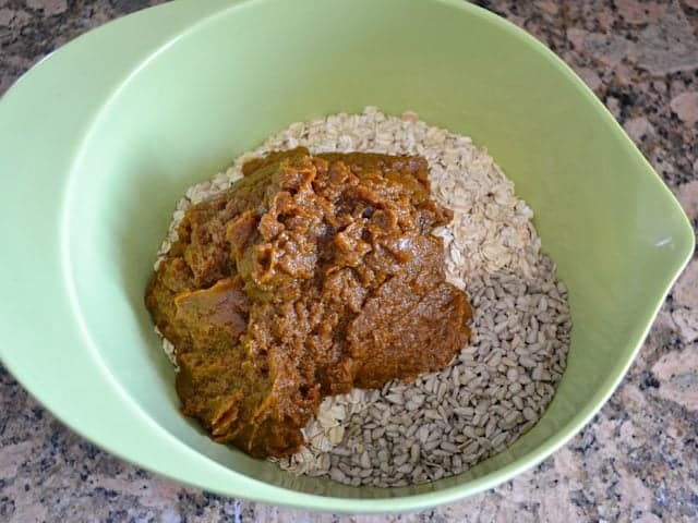 Pumpkin Mixture, Oats, Sunflower Seeds
