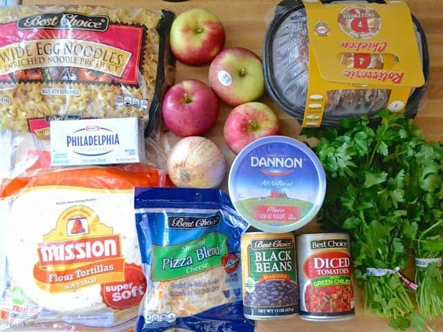SNAP Challenge Week 4 Groceries