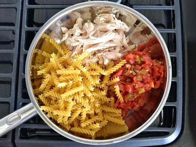 Chicken Pasta Rotel